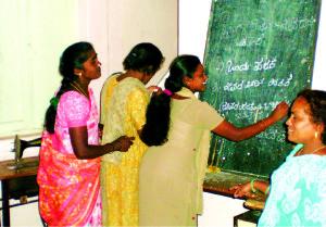 Literacy class